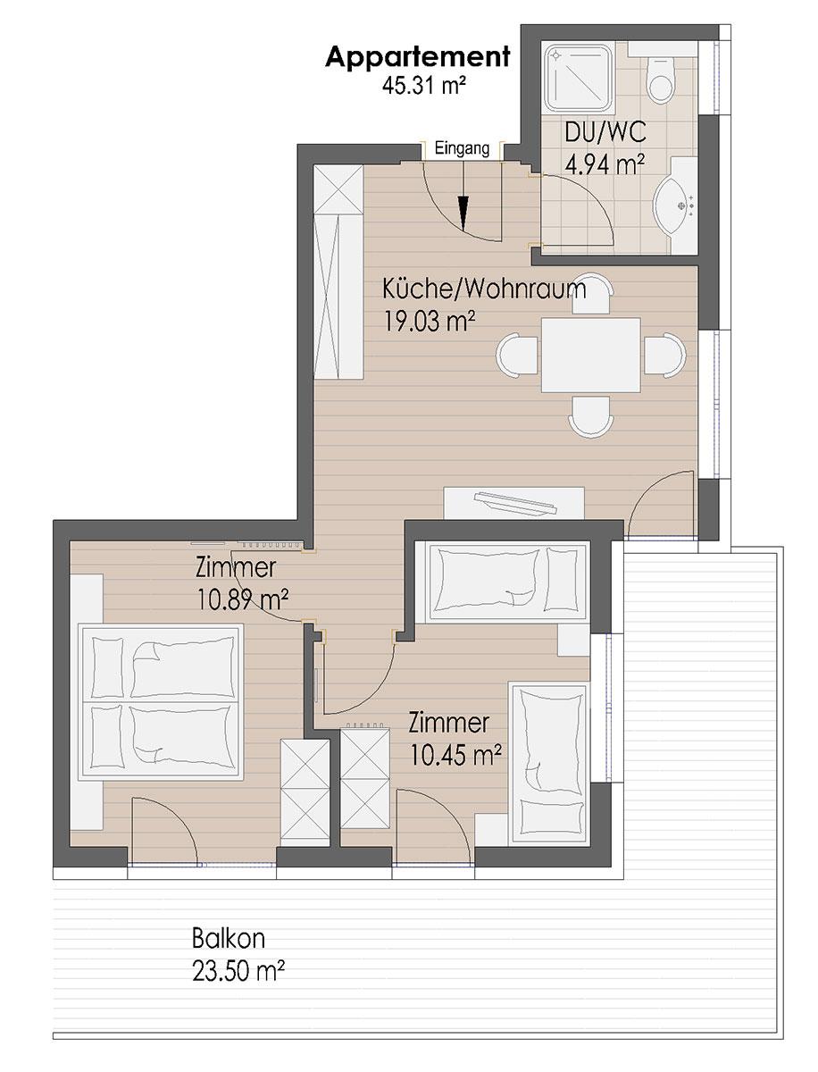 Mattlishof - Wohnung 3